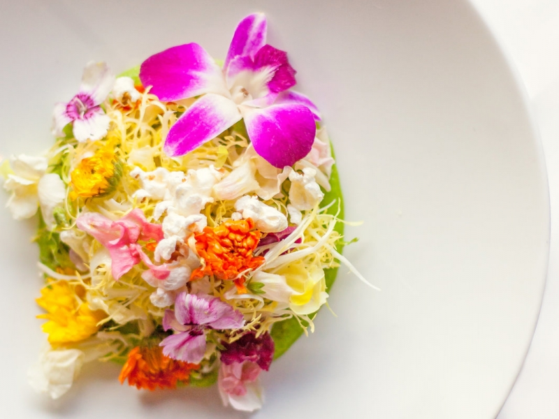 Ray's on the River - Wildflower Salad