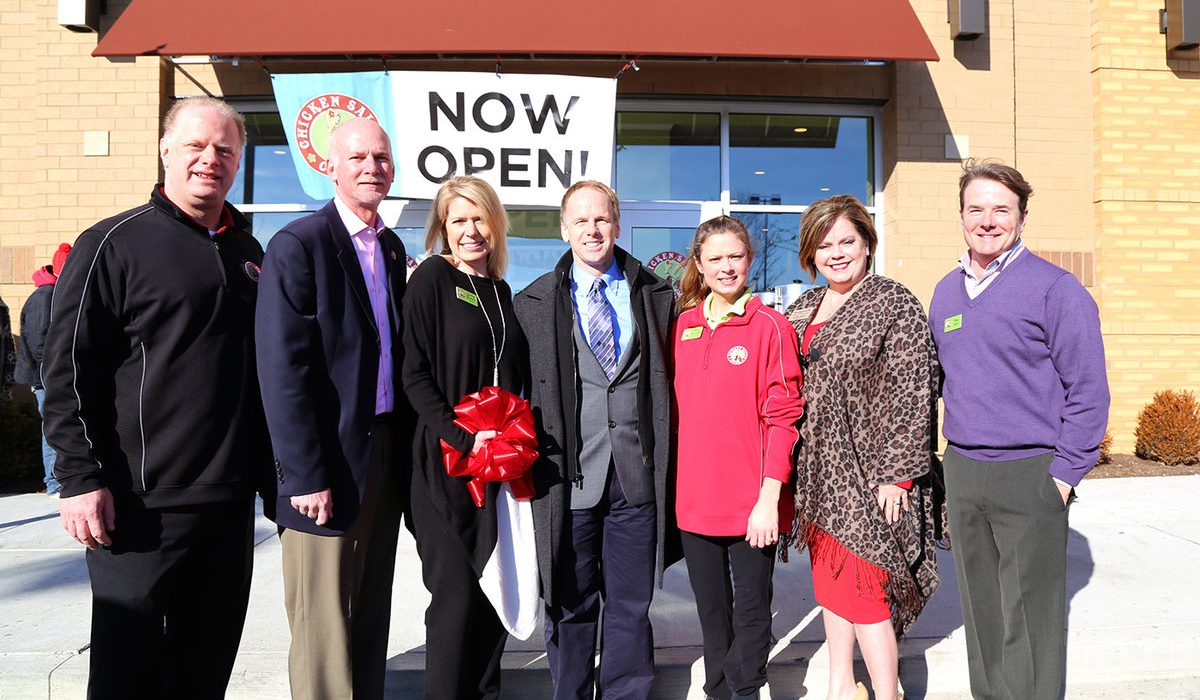 Chicken Salad Chick Ribbon-Cutting 5