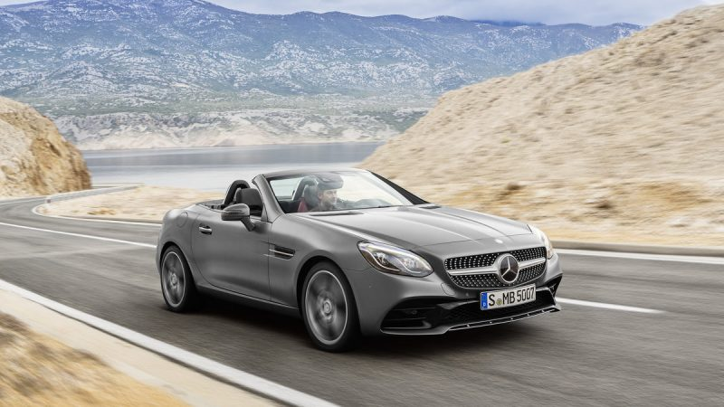 2017 Mercedes-Benz SLC300 Roadster 3