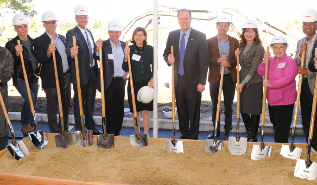 Kilroy Realty's Groundbreaking Celebration of One Paseo 11
