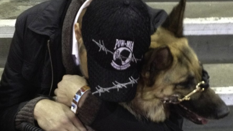 Angel Canines Soar for Wounded Warriors