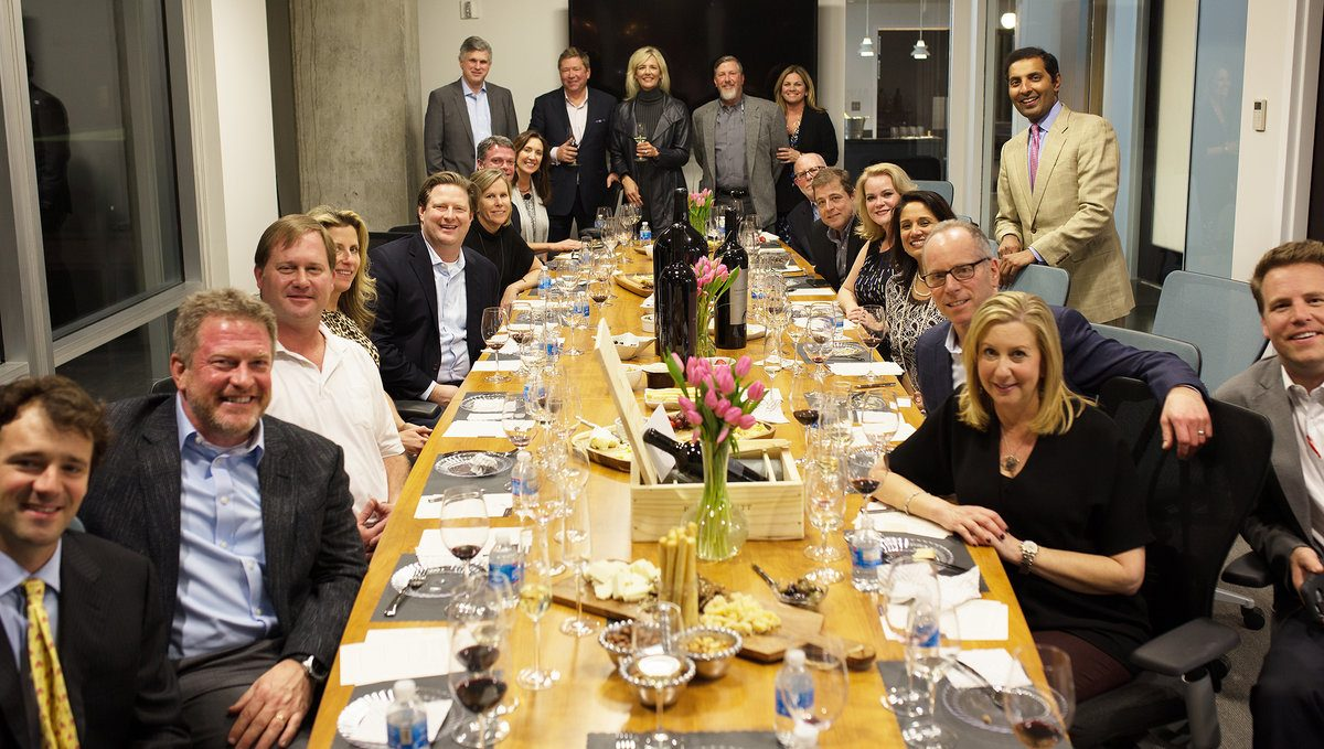 Avison Young Hosts Phifer Pavitt Wines 2