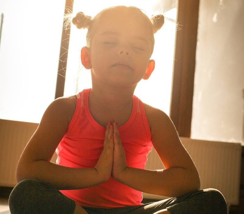 Kids Warm to Yoga