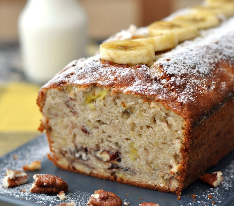 Aunt Dru's Old Fashioned Banana Bread with a Twist
