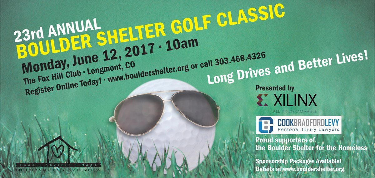 23rd Annual Boulder Shelter Golf Classic