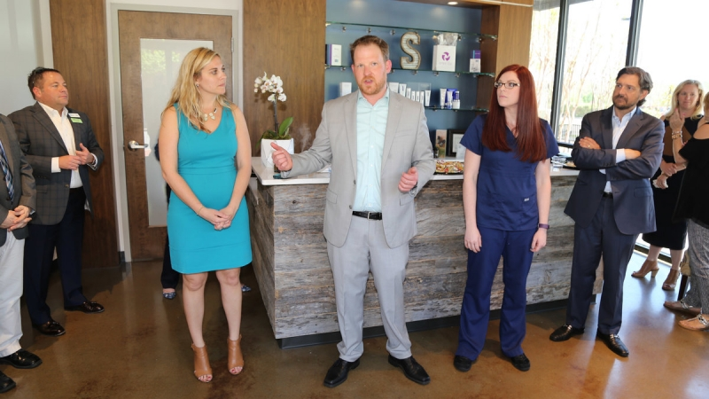 Skinworks Wellness Ribbon-Cutting 6