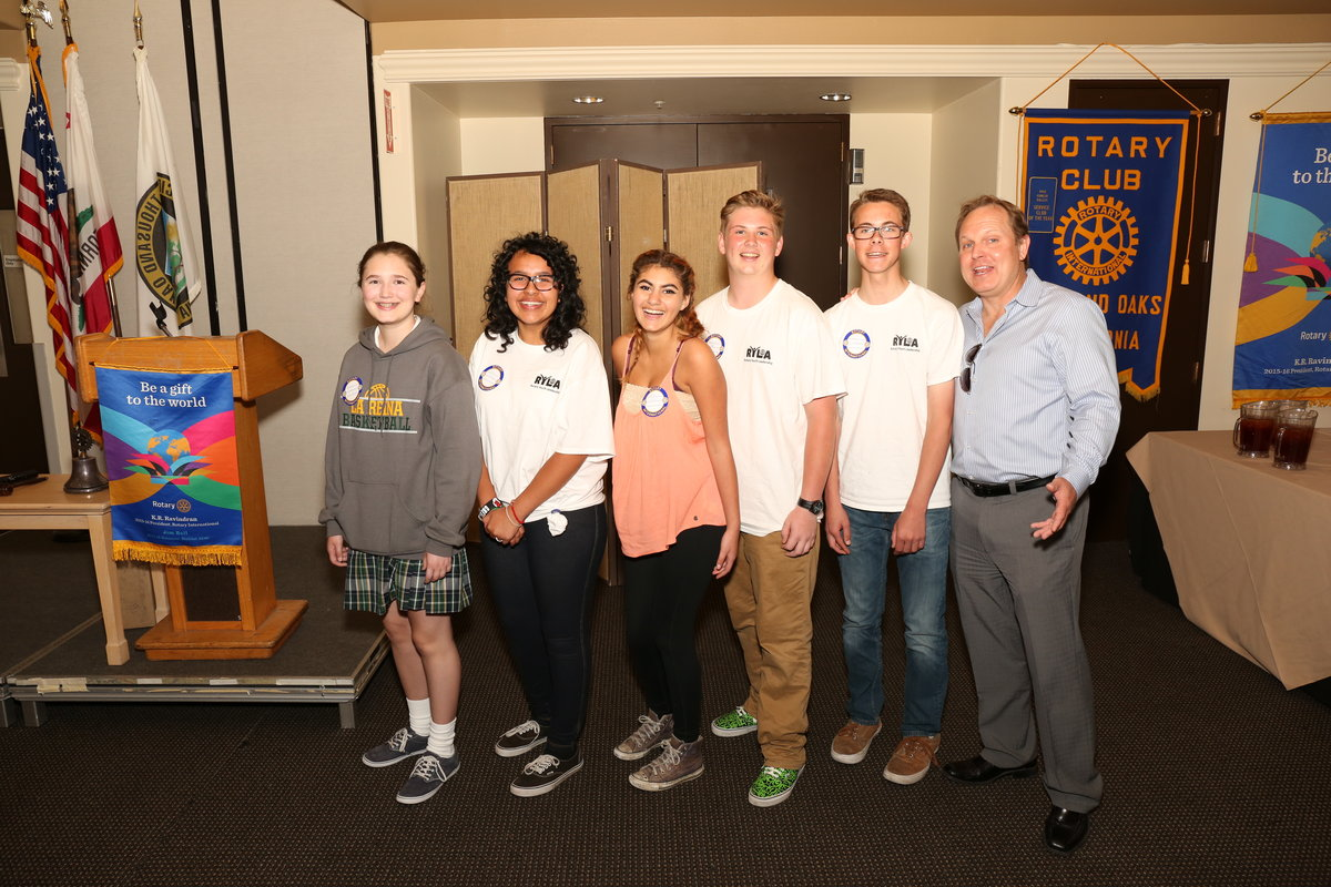 Thousand oaks rotary club essay