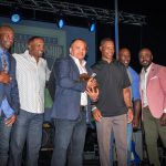 Marshall Faulk Hosts Celebrity Championship 