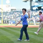 Kansas City Royals Honorary First Pitch 2