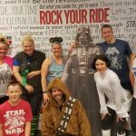 Star Wars Themed Bicycle Charity Spin