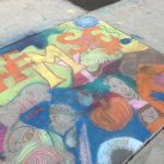 Corner Canyon High School Chalk Walk