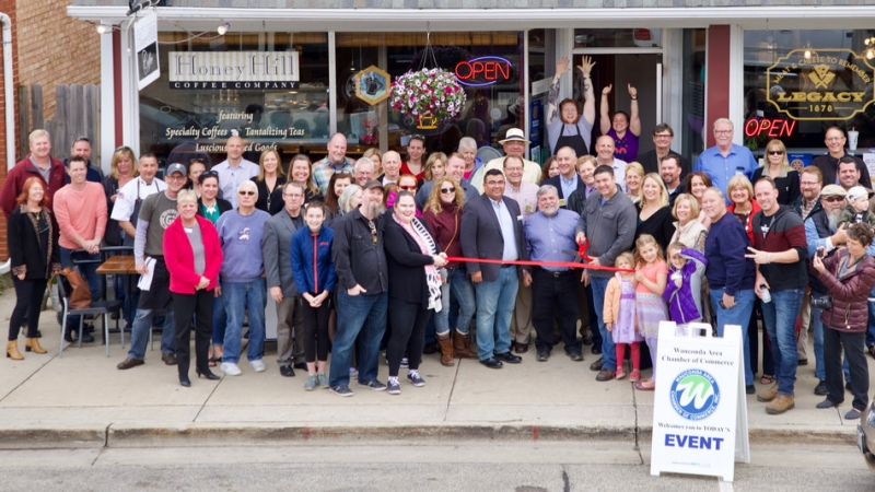 Wauconda Chamber of Commerce Ribbon Cutting Trifecta 2