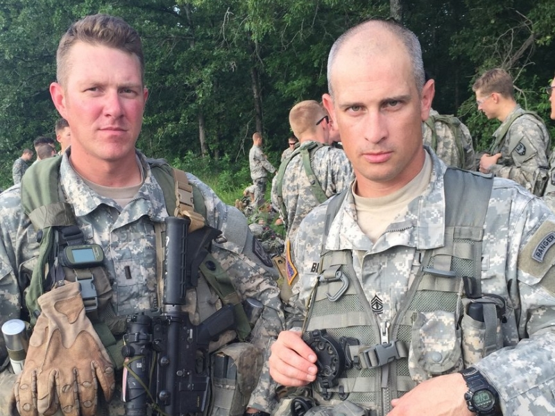 Local Firefighters Serving in Middle East Together 5