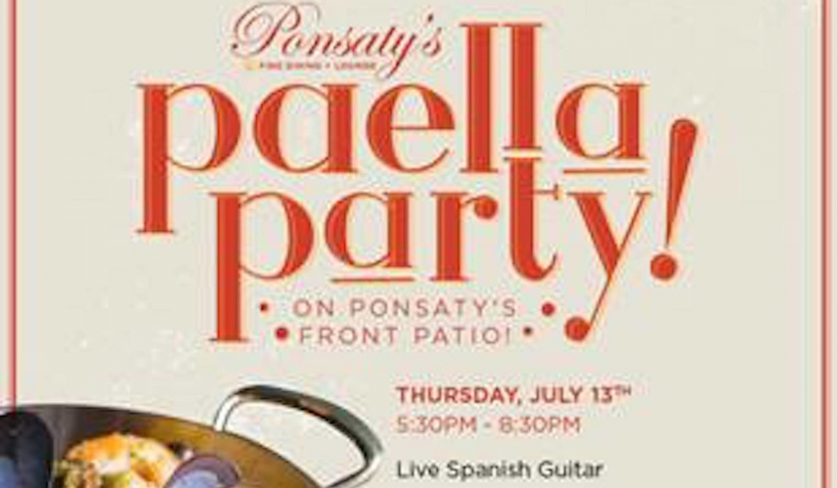 Summer Paella Party