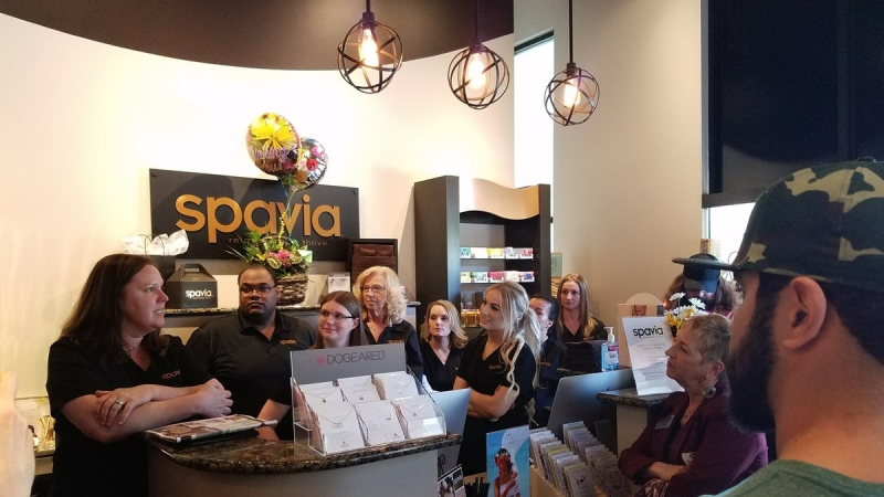 Grand Opening for Spavia Day Spa 5