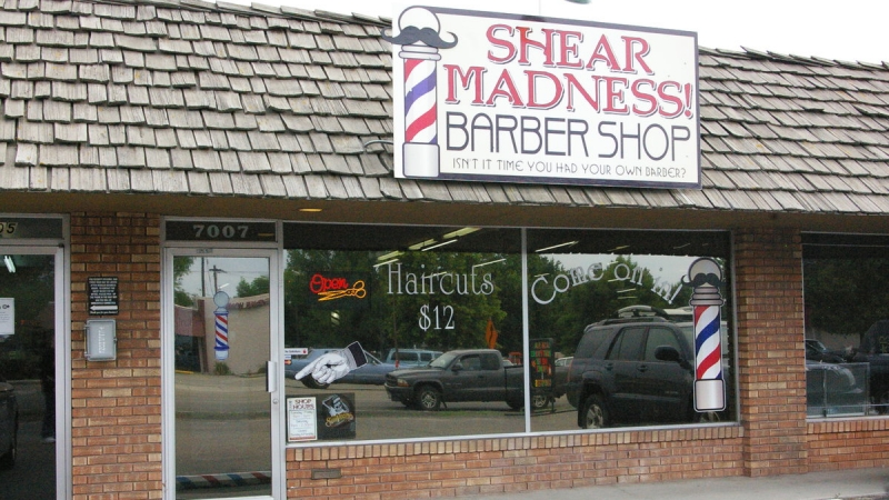 Shear Madness! Barbershop
