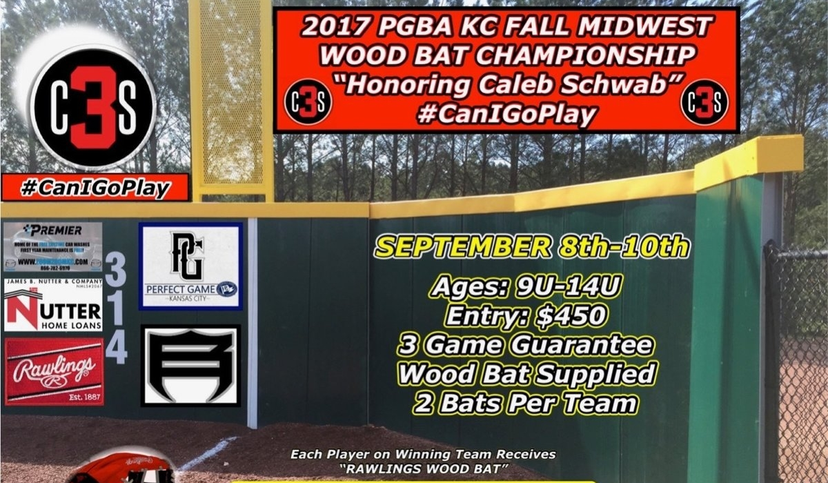 Caleb Schwab Wooden Bat Tourney