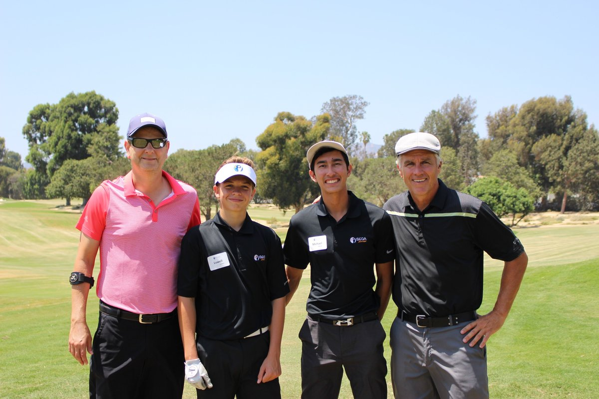 North Ranch Country Club Members Tee Up with Junior Golfers 1