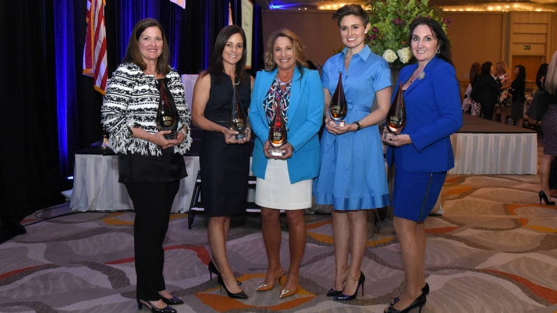 OCBJ Honors Five Outstanding Businesswomen