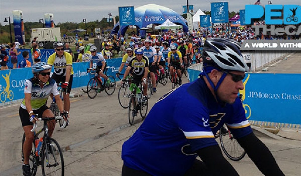 Pedal The Cause at Chesterfield Amphitheater