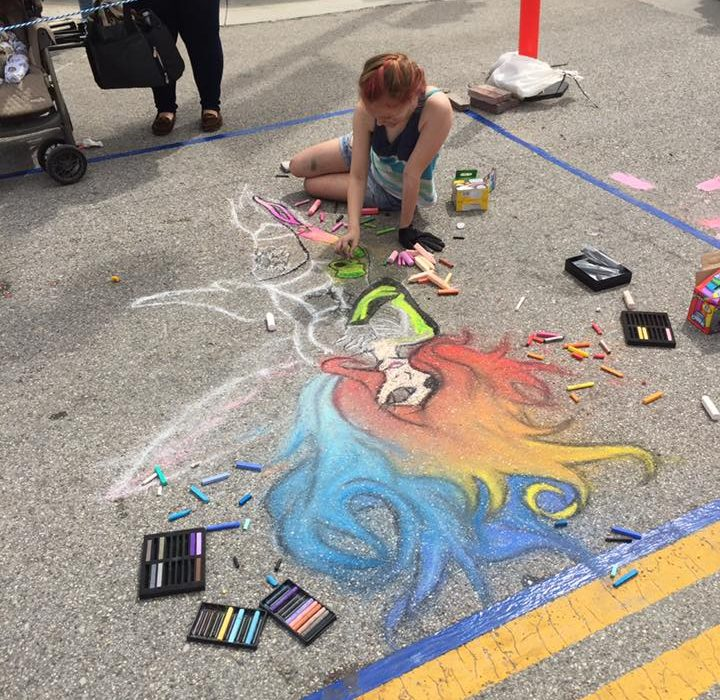CHALK IT UP An Art Festival