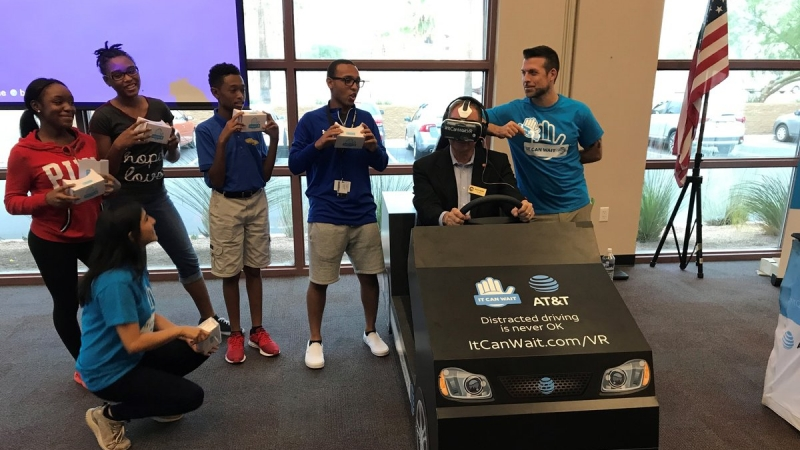 Virtual Reality to Fight Distracted Driving in Chandler 2