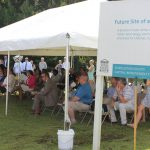 Groundbreaking Ceremony for the new Mount Pleasant Library