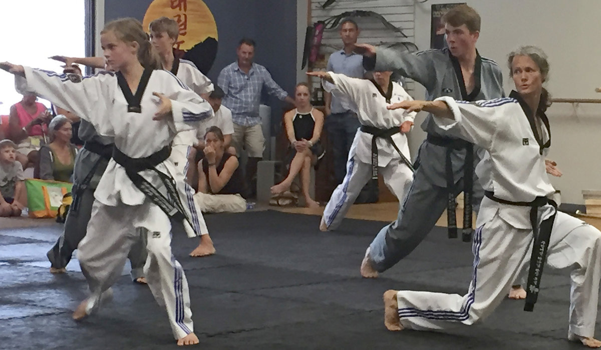 Pro TKD Students Take Black Belt Challenge 5