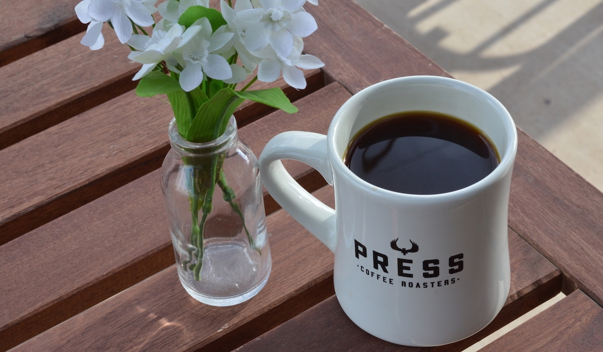 Free Small Cup of Coffee at Press Coffee