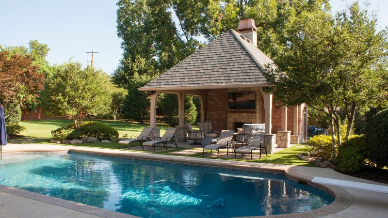 Pool House Project 14