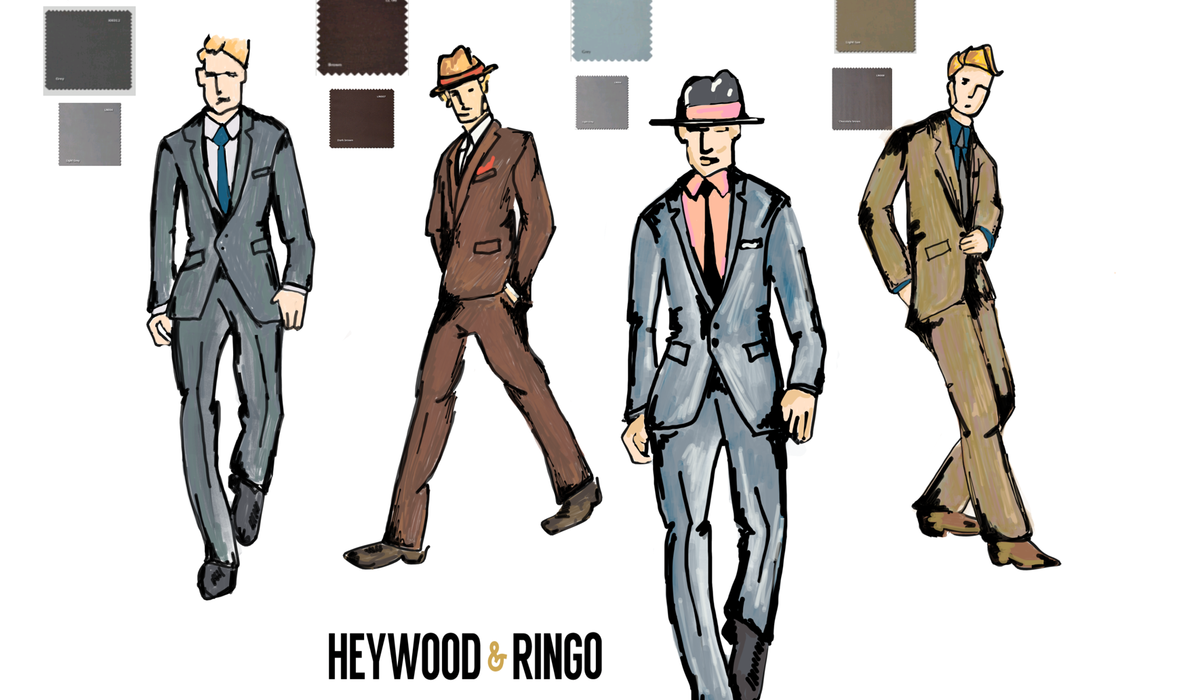 Measure up with Heywood & Ringo 3