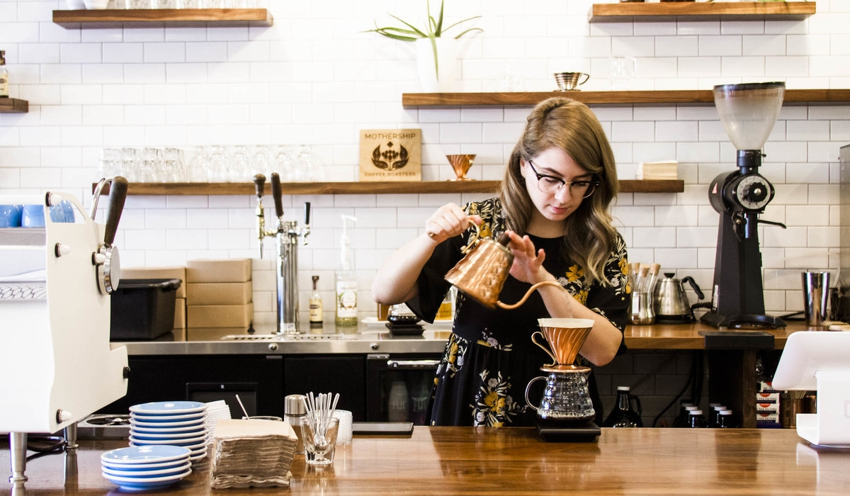 Mothership Coffee Roasters Creates a Space for the Community 14
