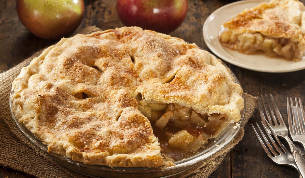 Organic All American Apple Pie 1