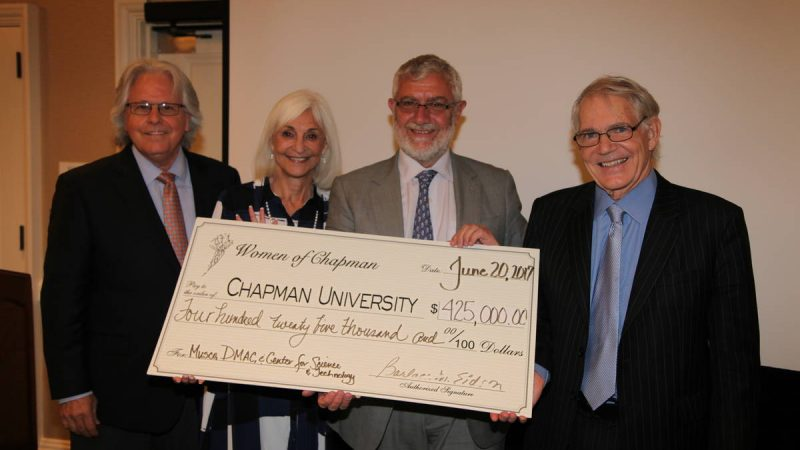Women of Chapman Present $425,000 to Chapman University