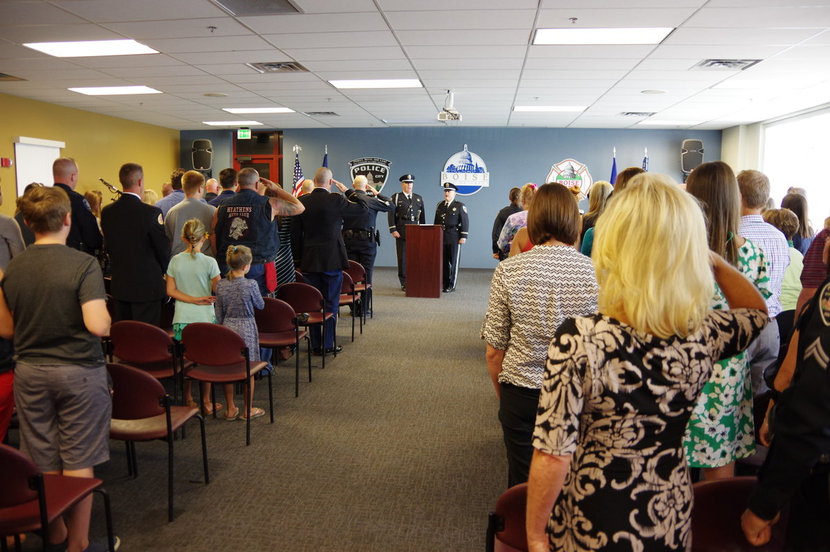 The Boise Police Department Promotions and Awards 7