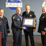The Boise Police Department Promotions and Awards 2