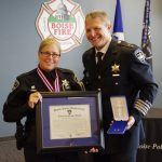The Boise Police Department Promotions and Awards