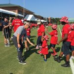 Atlanta Falcons Invite TAPS Kids and Families for a VIP Experience at Military Appreciation Day at Training Camp in Flowery Branch 15