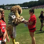 Atlanta Falcons Invite TAPS Kids and Families for a VIP Experience at Military Appreciation Day at Training Camp in Flowery Branch 4