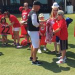 Atlanta Falcons Invite TAPS Kids and Families for a VIP Experience at Military Appreciation Day at Training Camp in Flowery Branch 14