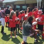 Atlanta Falcons Invite TAPS Kids and Families for a VIP Experience at Military Appreciation Day at Training Camp in Flowery Branch 13