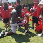 Atlanta Falcons Invite TAPS Kids and Families for a VIP Experience at Military Appreciation Day at Training Camp in Flowery Branch 3