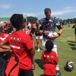 Atlanta Falcons Invite TAPS Kids and Families for a VIP Experience at Military Appreciation Day at Training Camp in Flowery Branch 12