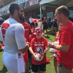 Atlanta Falcons Invite TAPS Kids and Families for a VIP Experience at Military Appreciation Day at Training Camp in Flowery Branch 2