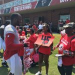 Atlanta Falcons Invite TAPS Kids and Families for a VIP Experience at Military Appreciation Day at Training Camp in Flowery Branch 9