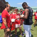 Atlanta Falcons Invite TAPS Kids and Families for a VIP Experience at Military Appreciation Day at Training Camp in Flowery Branch