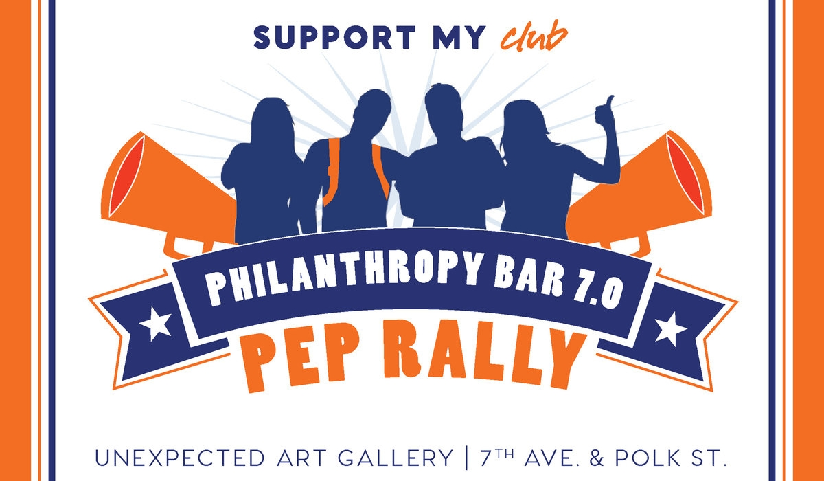 Support My Club's Philanthropy Bar 7.0: Pep Rally