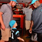 Panthers Fundraiser for Hurricane Harvey Relief 11