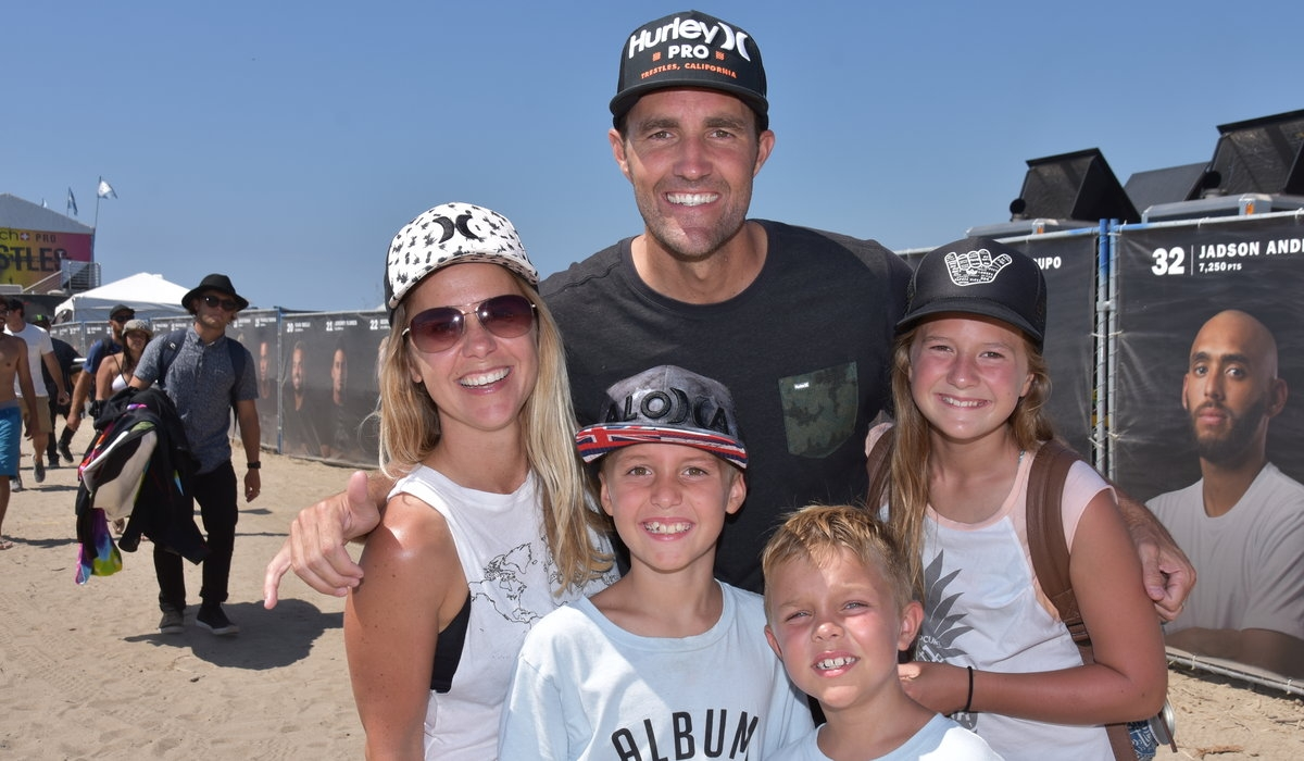 Hurley Pro and Swatch Pro at Trestles 12