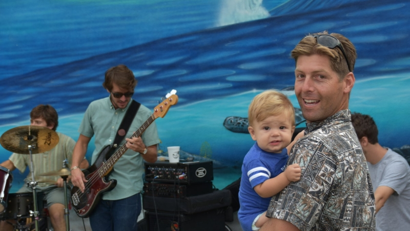 Stewart Surfboards rides Party Wave with Lost Winds Brewery 7